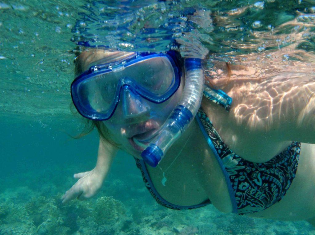 Canva – Diver, Snorkeling, Diving Goggles, Snorkel, Sea